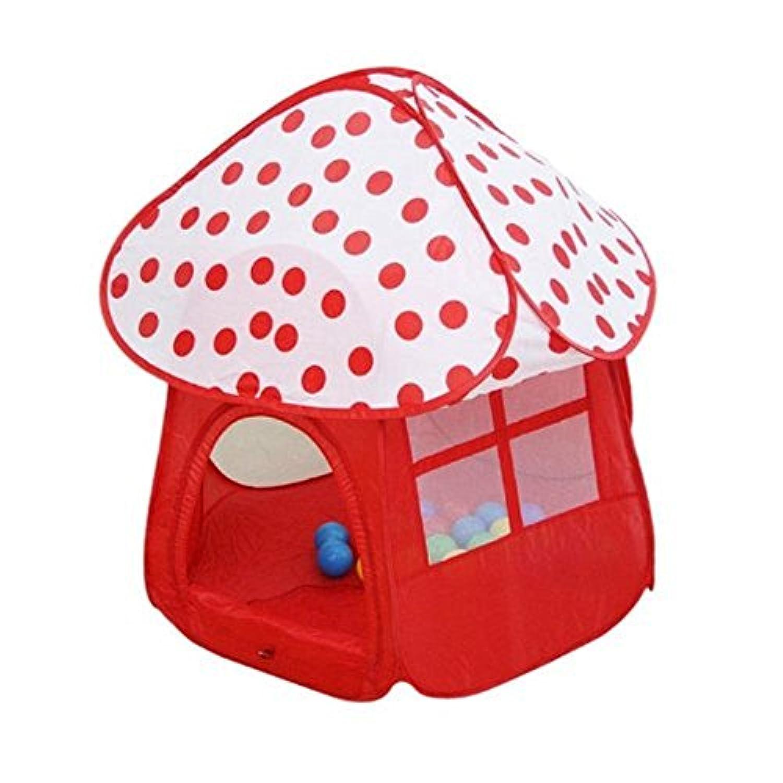 [カーサ モール]CASA MALL Kids Pop Up Play Tent with Shade Ball House Mushroom Shape Play Tent Pit Ball Pool for Indoor [並行輸入品]