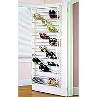 ( US Stock ) lantusi 12 Layersフィット36ペアホームHangingをドアのシューズラック、多機能Hanging Shoeストレージラックwithフックfor省スペース、ホワイト靴クローゼットオーガナイザー