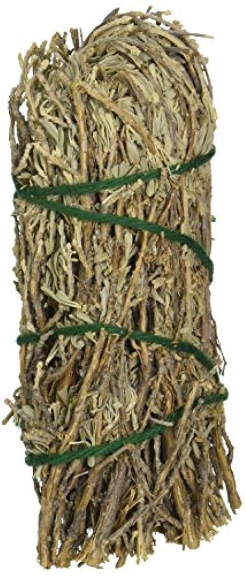 溝作家大使館セージ& Sweetgrass – Medium Smudge Wand byセージSpirit、(hrb28 )