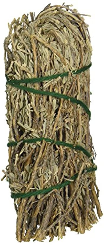 を除くコモランマ課税セージ& Sweetgrass – Medium Smudge Wand byセージSpirit、(hrb28 )