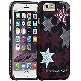 【日本正規品】 REBECCA MINKOFF × Case-Mate Striped Red Stars, iPhone6s / iPhone6 レベッカミンコフ ストライプ レッド スターズ, ハイブリッド タフ ケース CM032887