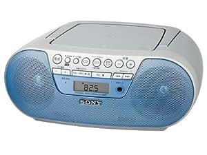 SONY CDラジオ S10CP ブルー ZS-S10CP/L