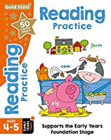 Gold Stars Reading Practice Ages 4-5 Early Years: Supports the Early Years Foundation Stage (Workbook)