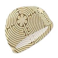 スイムキャップ 水泳帽 キッズ 泳ぎキャップ 子供用 アンティーク迷宮 レトロ 夏 UVカット 通気 速乾