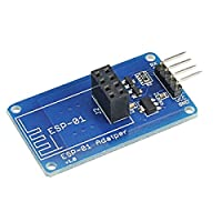 ランフィー Geekcreit R ESP8266 シリアル wi-fi ワイヤレス ESP-01 アダプターモジュール 3.3 v 5v 互換性 Arduino -