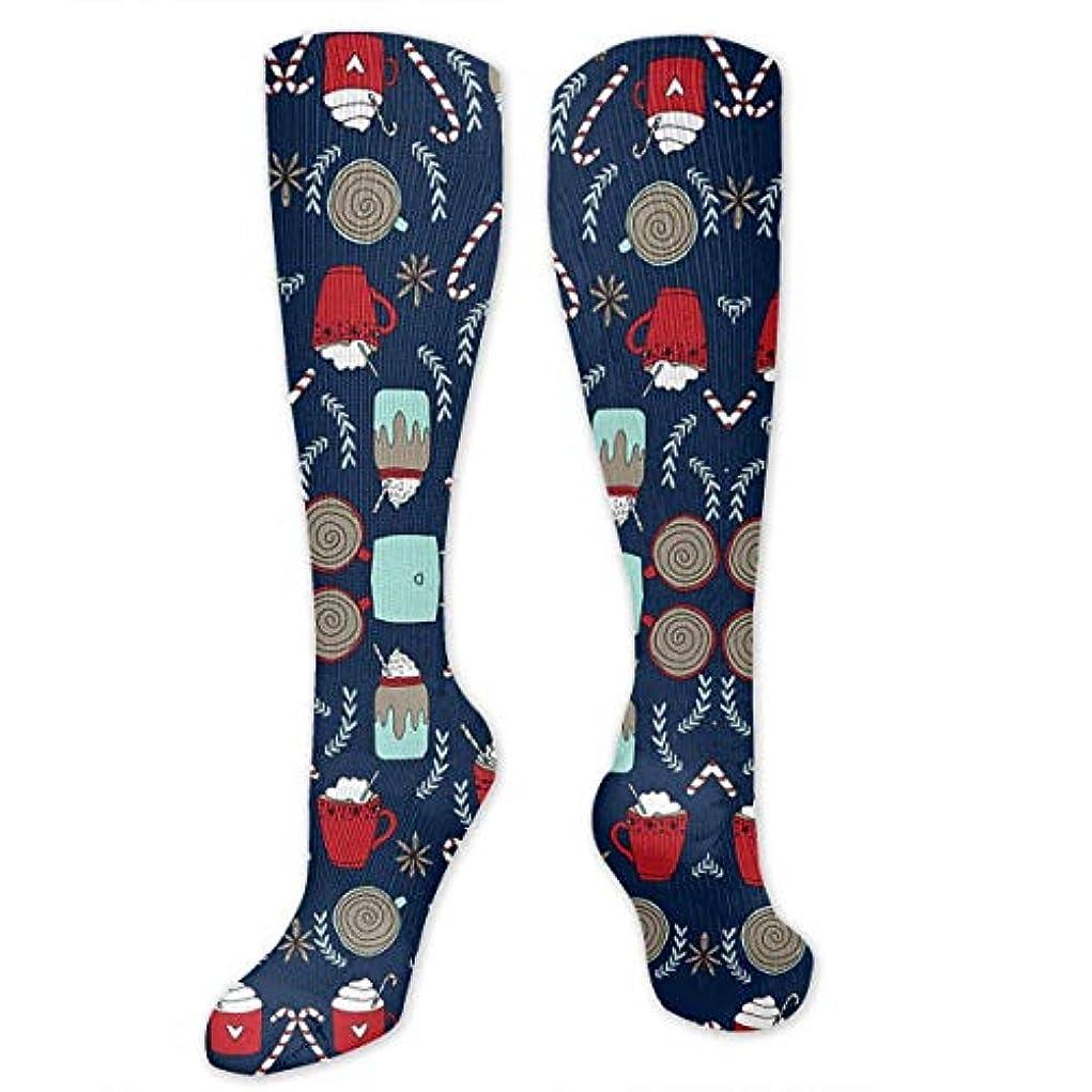 ボーナスホイップ不信靴下,ストッキング,野生のジョーカー,実際,秋の本質,冬必須,サマーウェア&RBXAA Hot Cocoa Socks Women's Winter Cotton Long Tube Socks Cotton Solid...