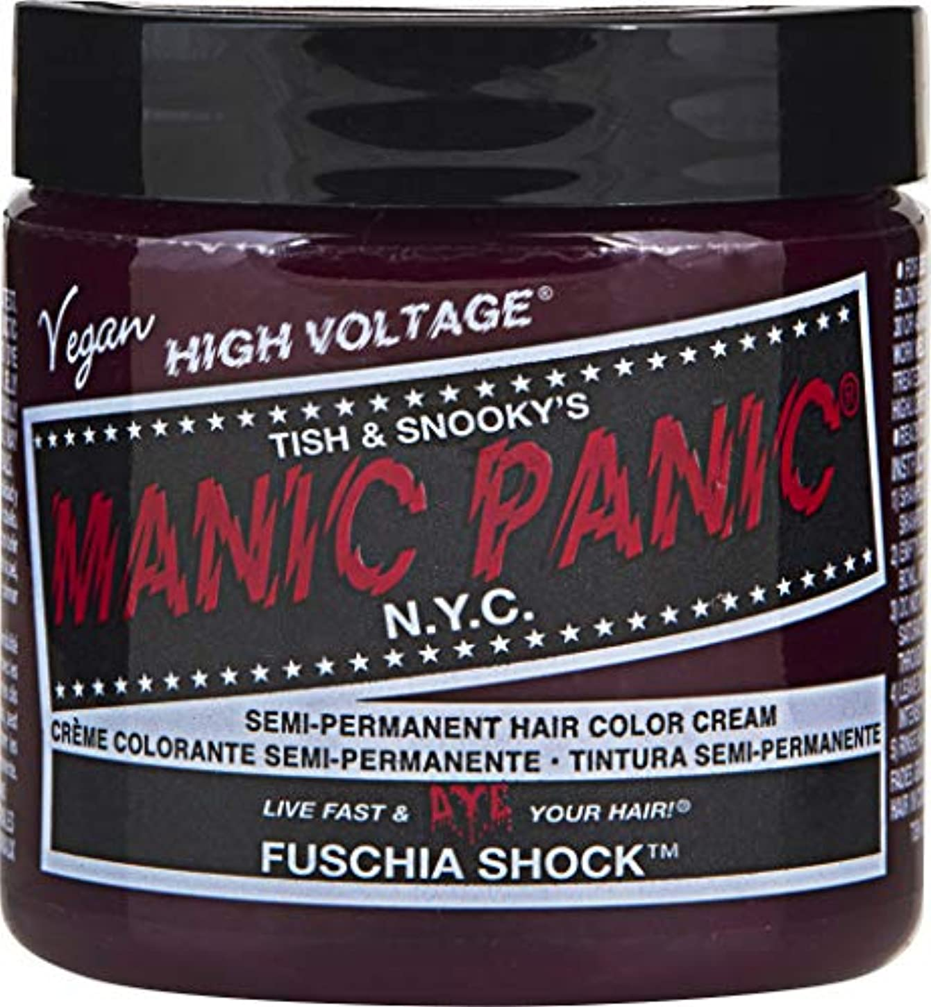Manic Panic ショックヘアダイ フクシア