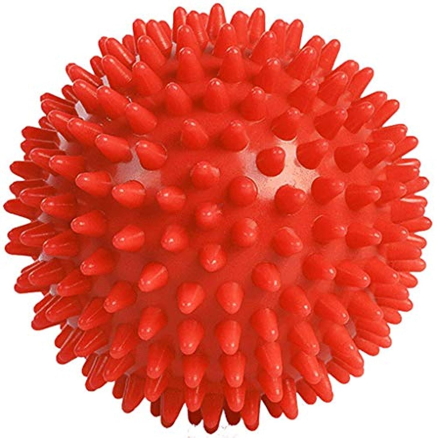 ぎこちない回復有効なuzinby リフレックスボール 触覚ボール 足裏手 背中のマッサージボール リハビリ マッサージ用 血液循環促進 筋肉緊張 圧迫で解きほぐす