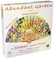 Abundant Garden 1000 pc Shapedジグソーパズルby SunsOut
