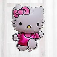 キティちゃんバルーン 風船 結婚式 誕生日 ハローキティ パーティ イベント LZ-018f (ピンク)