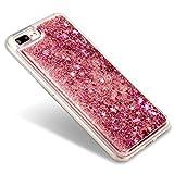 【EseekGO】 iPhone 7 Plus専用保護カバー キラキラ流れ星ハードTPUケース For iPhone7 Plus【全5色】シューティングスターRed 【レッド】