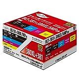 Myink インクカートリッジ <Canon(キヤノン) BCI-381+380XL/5MP互換 5色セット 380XLPGBKのみ大容量 インク残量検知対応> C381/380XL-5P 互換インクカートリッジ [PIXUS TS6130/TS6230/TR8530/TR7530/TR9530/TS8130/TS8230対応]【国際規格ISO9001品質】