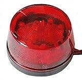 LED フラッシュ ストロボ 12V 汎用 警告灯 非常灯 レッド 赤