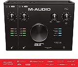 M-Audio USB/USB-C対応 2イン/2アウト オーディオインターフェース/MIDIインターフェイス:ProTools|First/Ableton Live Lite/Eleven Lite/Avid Effects Collection/AIR Music Tech製エフェクト&ソフト音源付属 AIR 192|6