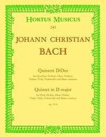 ヨハン・セバスチャン・バッハ : 五重奏曲 ニ短調 作品11-6 (フルート、オーボエ、ヴァイオリン、ヴィオラ、チェロ、通奏低音) ホルトゥス・ムジクス(ベーレンライター)出版