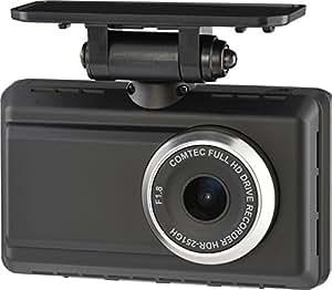 コムテック ドライブレコーダー 駐車監視モード機能付き 200万画素 3年保証日本製モデル【GPS搭載】 HDR-251GH