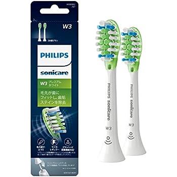 (正規品)フィリップス ソニッケアー 電動歯ブラシ 替えブラシ プレミアムホワイト レギュラー2本(6ヶ月分)  HX9062/67