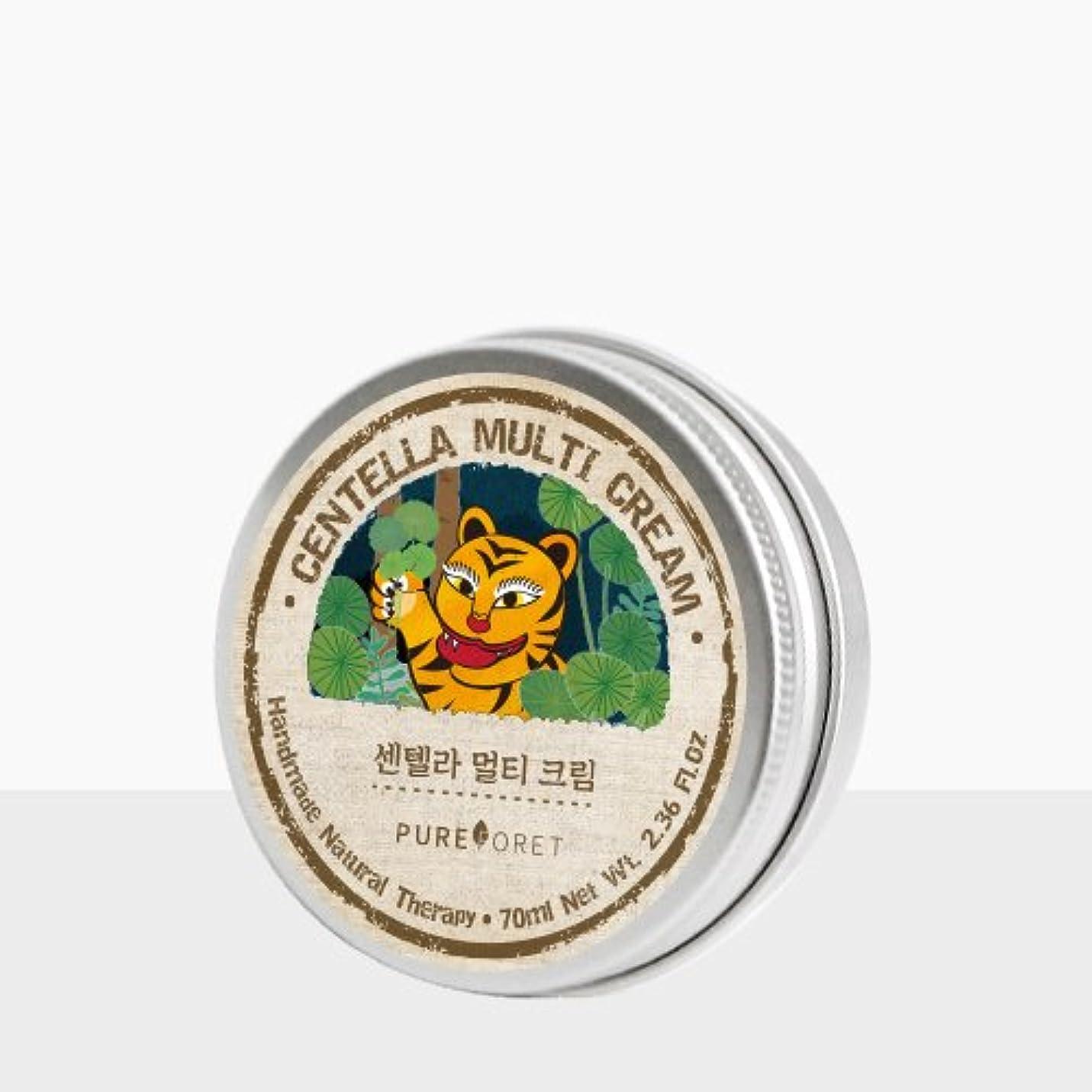 弾性ピンチ動物Pureforet センテラマルチ クリーム (70ml)