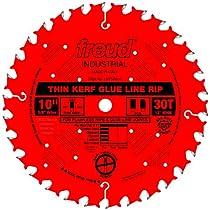 "10"" Thin Kerf Glue Line Rip Circular Saw Blade-10""X30T GLU LN RIP BLADE (並行輸入品)"