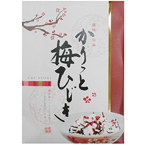 神尾食品工業 カリッと梅ひじき 130g