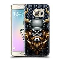 Head Case Designs バイキング スカル・ウォリアーズ Samsung Galaxy S7 edge 専用ソフトジェルケース