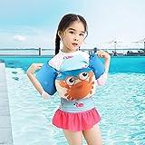 強化版 アームリング 子供用 浮き輪 幼児 プール 浮力サポート 浮き輪 腕 強い浮力 水泳リングアームサークル スイミング補助具 水泳練習 多色選択可 男女兼用