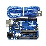 HiLetgo UNO R3 ATmega328P ATMEGA16U2開発ボード UNO R3 Arduino互換 [並行輸入品]