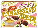 江崎グリコ 春のはなやぎアーモンドピーク(はちみつ仕立て) 55g ×10箱