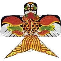 Chinese Traditional Swallow凧(ブラックwithレッド金魚)