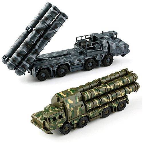VERY100 【4D立体DIYキット】 1/72スケール 組立式 戦車模型 ★戦車 S300ミサイル戦車模型 / 第2弾誘導照射レーダー戦車模型 2種類 カラーランダム出荷 ミサイル戦車模型