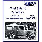 オペルブリッツ 1t オムニバス フルキット Opel Blitz 1t Omnibus 1/35 [3552]