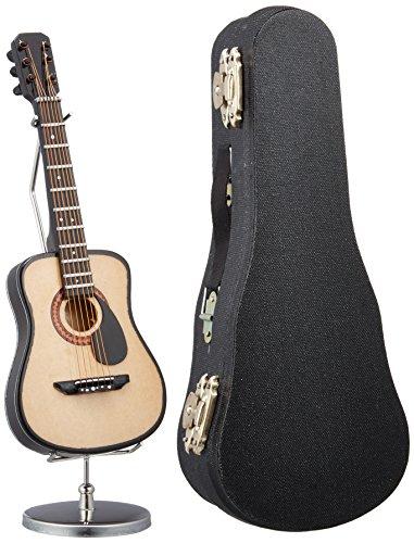 [해외]SUNRISE SOUND HOUSE 선 라이즈 사운드 하우스 미니어처 악기 포크 기타 15cm/SUNRISE SOUND HOUSE Sunrise Soundhouse Miniature Musical Instrument Folk Guitar 15cm
