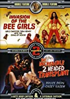 Invasion of the Bee Girls/Incredible 2 Headed Tran [DVD] [Import]