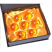 Topzone ドラゴンボール7個 - JP アニメドラゴンボールZスタークリスタルボールコレクション7個入り1箱 箱なし