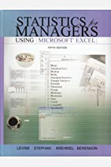 Statistics for Managers Using Excel and Student CD Package: United States Edition Hardcover