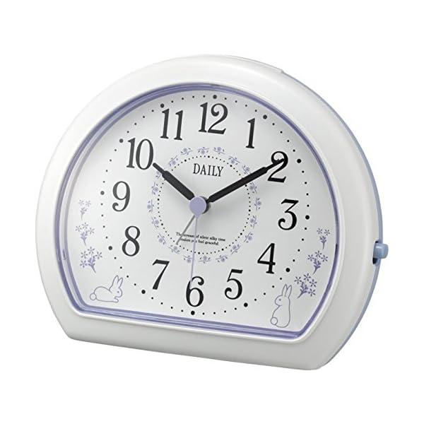 リズム時計 クォーツ 目覚まし 時計 アナログ ...の商品画像