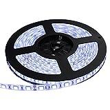 【テープ単体】 24V 両端子 5M 3チップ 防水LEDテープライト LEDイルミネーション (白色/白ベース)
