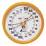 シンワ測定 温度計 D-9 丸型 72715