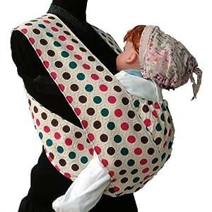 キウミベビー 【日本正規品保証付】 キウミの抱っこひも・水玉M