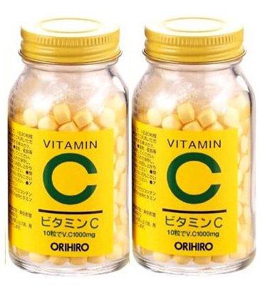 オリヒロ ビタミンC 300粒【お得な2個セット】...