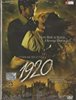 1920 (DVD) A Vikram Bhatt Film (2008) (Dvd/Bollywood/Hindi Film/Indian Cinema/Horror)