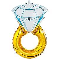 Kesoto 43インチ  ダイヤモンドリング状 ヘリウム箔 マイラー バルーン パーティー 結婚式適用 装飾
