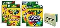 Crayola クレヨン 24本 2パック bundle マルチカラー 740044947113