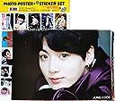 防弾少年団 BTS ジョングク JUNG KOOK 【 ポスター 12枚 (A3サイズ) + ステッカー セット 】13点セット