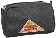 Kelty Flannel Pouch 1846-499-0800: Gray