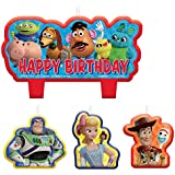 Toy Story 4 Candle Set, 4 asst per Pack