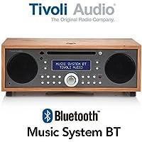Tivoli Audio チボリオーディオ Music System BT (タープ/チェリー) MSYBT-1530-JP <Bluetoothワイヤレス CD/AM/FM/クロック ラジオ・ステレオ・スピーカー>