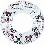【リブライト】ディズニー ミッキー ミニー 浮き輪ラブラブミッキー&ミニー 直径100cm  81496