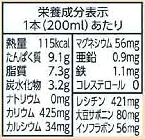キッコーマン飲料 おいしい無調整豆乳 200ml×18本