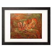 パウル・クレー Paul Klee 「Catastrophe of the Sphinx」 額装アート作品